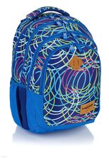 HEAD studentský batoh HD - 103 neon kruhy