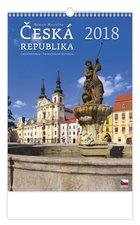 Helma Nástěnný kalendář 2018 Česká republika N101