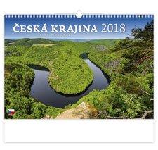 Helma Nástěnný kalendář 2018 Česká krajina N109