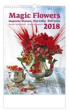 Helma Nástěnný kalendář 2018 Živé květy N140