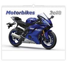 Helma Nástěnný kalendář 2018 Motorbikes N145