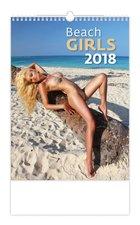 Helma Nástěnný kalendář 2018 Beach Girls N175