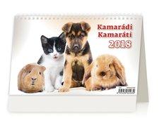 Helma Stolní kalendář 2018 Kamarádi/Kamaráti S34