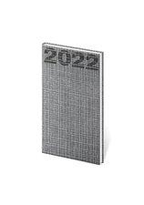 Diář 2022 A6 Coco - šedá