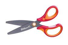 Herlitz Nůžky ergonomické Griffix červené