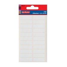 Herlitz Etikety kancelářské bílé 34 x 12 mm
