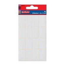 Herlitz Etikety kancelářské bílé 17 x 26 mm