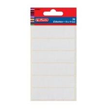 Herlitz Etikety kancelářské bílé 82 x 21 mm
