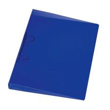Herlitz Pákový pořadač A4/4 cm, dvoukroužkový transparentní modrý