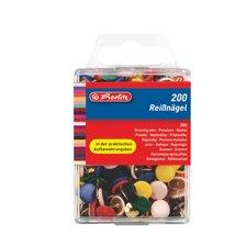 Herlitz Napínáčky barevné 200ks