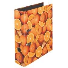 Herlitz Pákový Pákový pořadač A4/8 cm, Pomeranče
