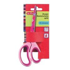 Nůžky špičaté pro leváky dětské, barevný mix