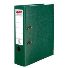 Herlitz Pákový Pákový pořadač A4/8 cm, Q.file protect zelený