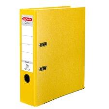Herlitz Pákový Pákový pořadač A4/8 cm, Q.file protect žlutý