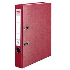 Herlitz Pákový Pákový pořadač A4/5 cm, Q.file protect červený