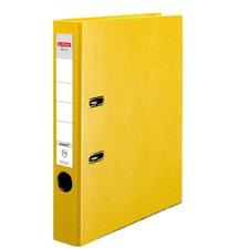 Herlitz Pákový Pákový pořadač A4/5 cm, Q.file protect žlutý