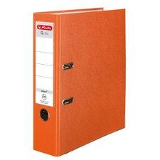 Herlitz Pákový Pákový pořadač A4/8 cm, Q.file protect oranžový
