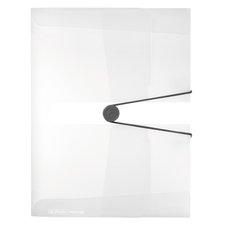 Herlitz Box na spisy  A4/4 cm transparentní - čirý