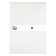 Herlitz Spisové desky s drukem A4  průhledné - čiré