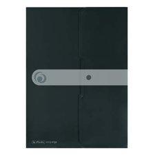Herlitz Spisové desky s drukem A4 černé