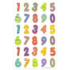 Herlitz Etikety Čísla barevná