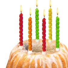 Herlitz Dekorační svíčky 6ks Twister