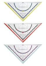 Herlitz Trojúhelník 25 cm s úhloměrem my.pen