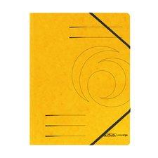 Herlitz Desky A4 prešpánové žluté