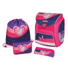 Herlitz Školní taška Sporti Kůň srdce vybavená