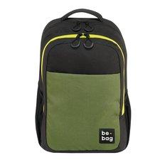 Herlitz Batoh studentský be.bag Black&Olive Green