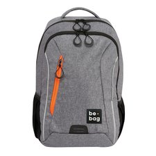 Herlitz Batoh teens be.bag Grey Melange
