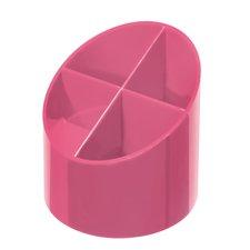 Herlitz Stojánek kulatý Color Blocking růžový