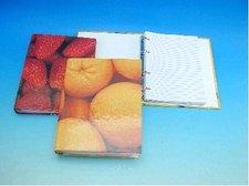 Složka A5 KARIS ovoce s laminovým povrchem