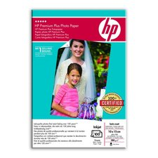 FotoPapír HP Q8031A Premium Plus Photo Paper, satin-matt, 10x15 (100 sheets)