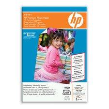 FotoPapír HP Q1992A Premium Photo Paper Glossy 10x15cm, 240g/m2, 60ks