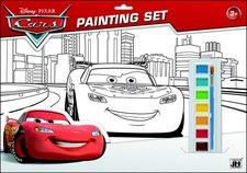 Jiri Models Omalovánky set s barvami A3 Auta Cars