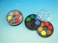 Barvy vodové kulaté 12 barev