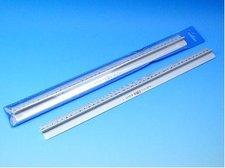 Pravítko 40cm kovové s držátkem