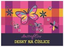 Karton P+P Desky na číslice Motýl 1-16318