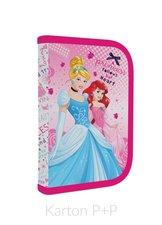 Karton P+P Penál 1 p. s chlopní, naplněný Princess