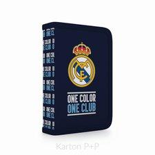 Karton P+P Penál 1 p. 2 chlopně, prázdný Real Madrid