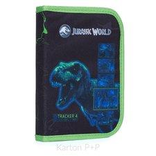Karton P+P Penál 1 p. 2 chlopně, prázdný Jurassic World
