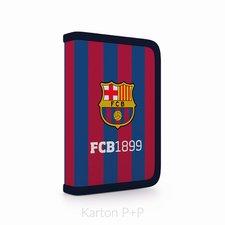 Karton P+P Penál 1 p. 2 chlopně, prázdný FCB 1-54718