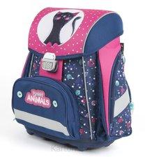 Karton P+P Školní batoh PREMIUM kočka 1-57418