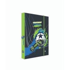 Box na sešity A5 fotbal