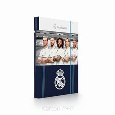 Karton P+P Box na sešity A4 Real Madrid