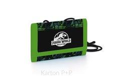 Karton P+P Dětská textilní peněženka Jurassic World 1-82218