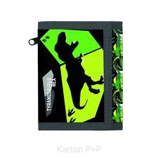 Karton P+P Dětská textilní peněženka T-Rex