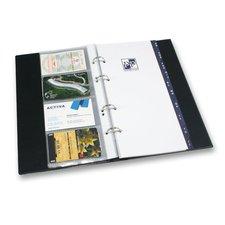 Karton P+P Xepter - 4řadý vizitkář z PVC, černá