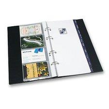 Karton P+P Xepter - 4řadý vizitkář z PVC, modrá